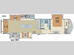 Columbus 1492 366RL Floorplan Image
