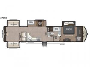 Montana High Country 378RD Floorplan Image