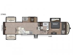 Montana High Country 379RD Floorplan Image