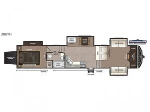 Montana High Country 380TH Floorplan Image