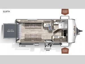 Rockwood GEO Pro G19TH Floorplan Image
