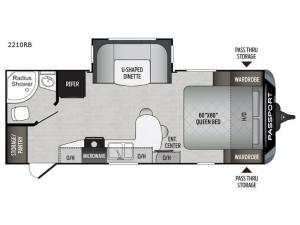 Passport Travel Trailer Rv Sales 20 Floorplans