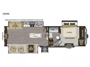 Avalanche 300RE Floorplan Image
