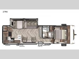 Wildwood 27RK Floorplan Image
