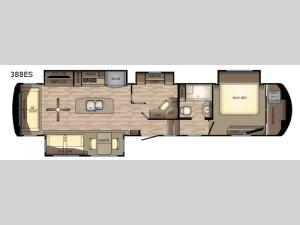 Redwood 388ES Floorplan Image