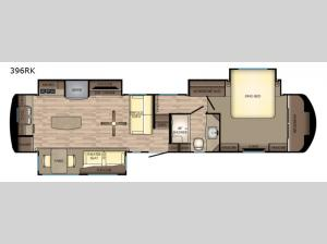 Redwood 396RK Floorplan Image