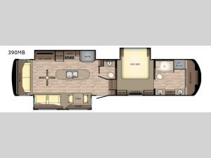 Redwood 390MB Floorplan Image