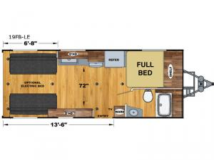 Attitude Limited 19FB-LE Floorplan Image