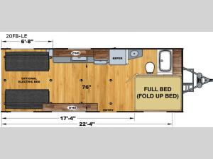 Attitude Limited 20FB-LE Floorplan Image