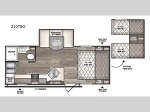 Intrepid 210TBO Floorplan Image