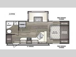 Intrepid 235RB Floorplan Image