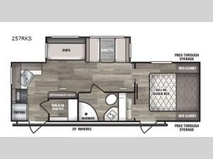 Intrepid 257RKS Floorplan Image