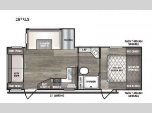 Intrepid 267RLS Floorplan Image