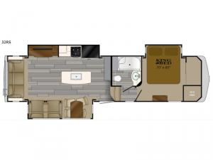 Bighorn Traveler 32RS Floorplan Image