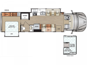 DX3 35DS Floorplan Image