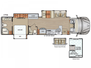 DX3 37RB Floorplan Image