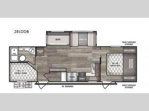 Intrepid 281DDB Floorplan Image