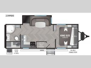 Shadow Cruiser 239RBS Floorplan Image