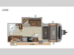 White Hawk 23MRB Floorplan Image