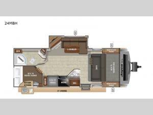 White Hawk 24MBH Floorplan Image