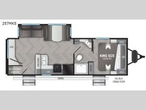 Shadow Cruiser 257MKS Floorplan Image