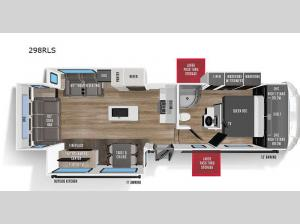Wildcat 298RLS Floorplan Image