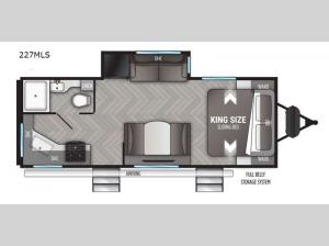 Shadow Cruiser 227MLS Floorplan Image