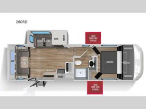 Wildcat 260RD Floorplan Image