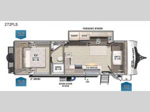 Grand Surveyor 272FLS Floorplan Image