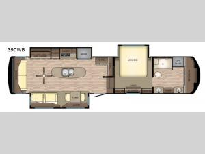 Redwood 390WB Floorplan Image