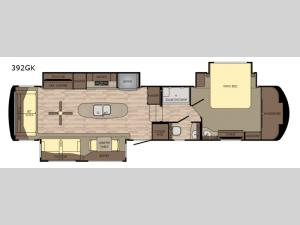 Redwood 392GK Floorplan Image