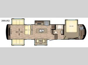 Redwood 3991RD Floorplan Image