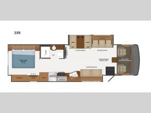 Flair 35R Floorplan Image