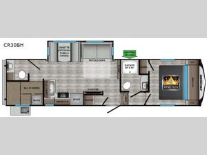 Cruiser Aire CR30BH Floorplan Image