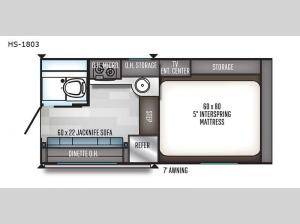 Real-Lite HS-1803 Floorplan Image
