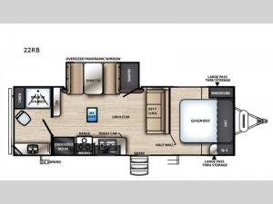 Vibe 22RB Floorplan Image