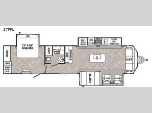 Puma Destination 37PFL Floorplan Image