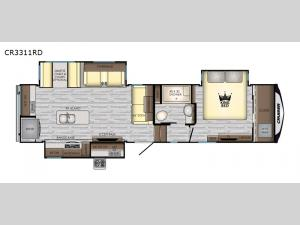 Cruiser CR3311RD Floorplan Image