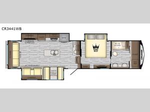 Cruiser CR3441WB Floorplan Image