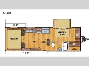 Iconic Limited 2414GT Floorplan Image