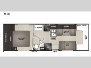 Cross Trek 30XG Ford E-350 Floorplan Image