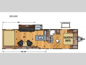 Attitude Wide Lite 2814GS Floorplan Image