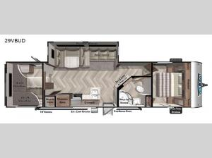 Salem 29VBUD Floorplan Image