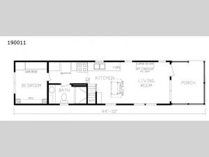 Cavco 150 Series 190011 Floorplan Image