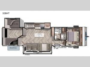Salem 32BHT Floorplan Image