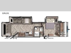 Salem 32RLDS Floorplan Image