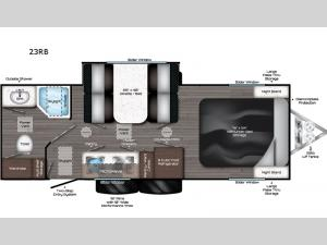 Falcon 23RB Floorplan Image