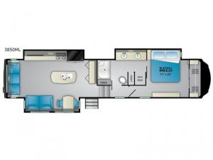 Bighorn 3850ML Floorplan Image