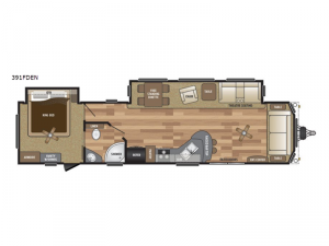 Retreat 391FDEN Floorplan Image