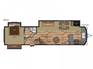 Retreat 39FKSS Floorplan Image